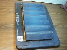 """Unusual RARE Wood Foundry Industrial Pattern Mold 24"""" X 16-1/4"""" X 3-1/2"""" (130)"""