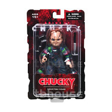 "5"" CHUCKY figure CHILD'S PLAY part IV 4 tiffany BRIDE OF charles lee ray MEZCO"
