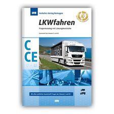 Top Angebot!!Nur kurz: Fahrschule:Führerschein Fragebogen 2017 Klasse C, CE, C1