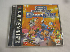 Dance Dance Revolution: Disney Mix (PlayStation PS1) Complete Nr Mint!