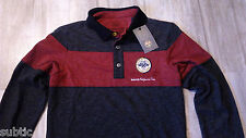 NWT NAPAPIJRI men branded collared polo shirt M long sleeve MEN'S NEW