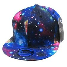 GALAXY ALL OVER PRINT SNAPBACK HAT CAP ADJUSTABLE FRESH PRINCE UNIVERSE SPACE