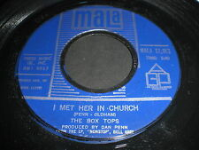 The Box Tops: I Met Her In Church / People Gonna Talk 45