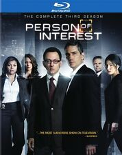 PERSON OF INTEREST THE COMPLETE THIRD SEASON 3 New Sealed Blu-ray