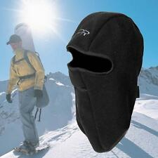 Fleece Motorcycles Thermal Balaclava Neck Winter Ski Full Face Mask Hat Cover SS
