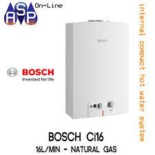 Bosch Ci16 Internal NG 16L Continuous Compact Hot Water Unit GWH16-2GNG