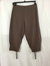 "Lunn by Lilith ""Devoue Chocolat Pantalon"" Brown Cropped Pants NWT Euro 3/L"