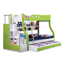 New Modern Design Triple Bunk bed With Storage Space Free Melb Delivery