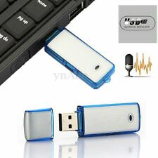 Mini 8GB USB Disk Pen SPY Drive Digital Audio Voice Recorder 160 hrs Recording