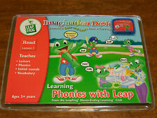 Leap Frog Imagination Desk Learning Phonics with Leap Lesson 1 New In Package