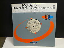 "MAXI 12"" MC SAR & THE REAL MCCOY It's on you 1907451 PY122"