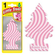 Little Tree Scent Hanging Air Freshener for Car & Home - Pink Sweet Bubble Gum