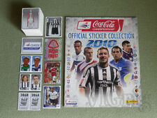2010 Coca-Cola Championship PANINI - empty album + set (ALL 386 stickers)