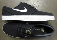 Nike Zoom Stefan Janoski SB Canvas Black White size 10.5 (# 615957-028) -NEW-