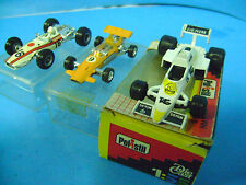 POLISTIL WILLIAMS F.1/CHAMPION HONDA F.1/SCHUCO BRABHAM450F.1 metal
