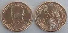 USA Präsidentendollar 2015 Dwight D. Eisenhower P unz.