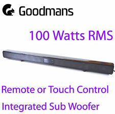 Goodmans 100W 2.1 bluetooth soundbar optical input grade a factory refurbished
