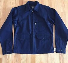 RRL Double RL Ralph Lauren Denim Selvedge Navy Blue Jacket Small New $690
