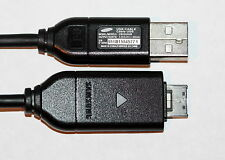 GENUINE SAMSUNG CAMERA CHARGER & USB CABLE FOR PL20 PL22 PL100 PL121 PL150 PL200