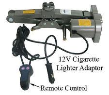1 Ton ELECTRIC SCISSOR 12V Cigarette Adapter Auto Car Jack Lift - 2000 lbs