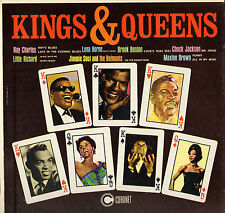 """COMPILATION """"KINGS & QUEENS"""" 50'S RHYTHM AND BLUES LP CORONET 260"""