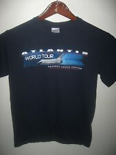 Space Shuttle Atlantis NASA Kennedy Center USA Mission World Tour T Shirt Small