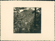 France, Vallée du Guil, Queyras, la Maison du Roi Vintage silver print Tirag