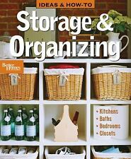 Ideas and How-To: Storage and Organizing (Better Homes & Gardens Do It Yourself)
