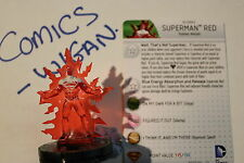 DC HeroClix Superman/Wonder Woman#041b Superman Red prime