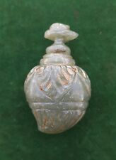 Antique OTTOMAN Turkish Islamic Mughal Green JADE Perfume bottle Nephrite Qing