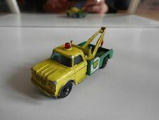 "Matchbox Lesney Dodge Wreck Truck ""BP"" in Yellow/Green"