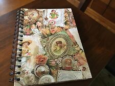 Victorian Themed Journal 8-1/2' X 6""