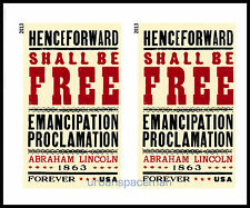 4721a Emancipation Proclamation Imperf Horizontal Pair No Die Cuts