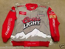 NASCAR STERLING MARLIN COORS LIGHT MED UNIFORM JACKET MINT new w/tag WINSTON CUP