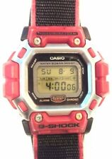 Rare Vintage Casio DW 8300 BG-1 G Shock Heavy Metal Stargate Watch Red Japan