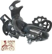 SHIMANO RD-TY300 6/7 SPEED CLAW HANGER MOUNT BICYCLE BLACK REAR DERAILLUER