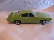1969 Pontiac GTO Judge In A Light Green 124 Scale Diecast From Red Box Toy dc156