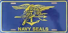 NAVY SEALS  Premium Embossed License Plate (LP-1109-171)