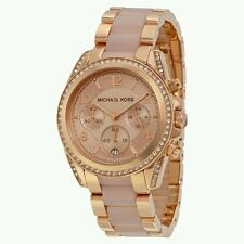 Michael Kors MK5943 Rose Gold Two Tone Blair Chronograph Women's Watch