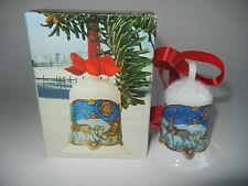 Hutschenreuther Weihnachtsglocke Porz. 1978 Weihnachten in Lappland (Art.1978-1)