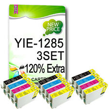 12 INK CARTRIDGE FOR S22 SX130 SX235W SX438W SX435W SX445W BX305FW T1285 NON-OEM