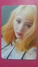 RED VELVET JOY Official Photocard RUSSIAN ROULETTE 3rd Album Photo Card 조이