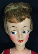 """Vintage Ideal 15"""" LIZ Carol Brent Fashion Doll Brunette M-15-L Excellent"""