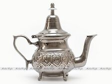 Authentic Moroccan Alpaca Silver Teapot - Moroccan Serving Tea Pot  16cm H