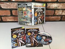 Star Wars BattleFront II (2) COMPLETE Game Battle Front MICROSOFT XBOX rare 2005