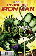 INVINCIBLE IRON MAN #2 SIMONSON KIRBY MONSTER 1:10 INCENTIVE VARIANT COVER