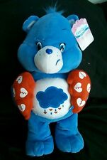 Care Bears Grumpy Bear Valentine's Heart Plush NWT Just Play American Greetings
