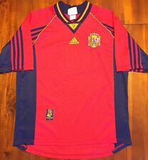 Adidas Spain 1998 World Cup Home National Soccer Jersey Camiseta Men's Large