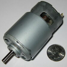 215 Watt Electric 12 VDC Motor - 25,000 RPM - 770 Frame Size Robot High Speed DC