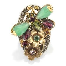 NEW SWEET ROMANCE OLLIPOP DRAGONFLY GARDEN ADJUSTABLE RING ~~BIG & BOLD~~